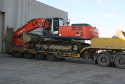 3 pelles 40 tonnes